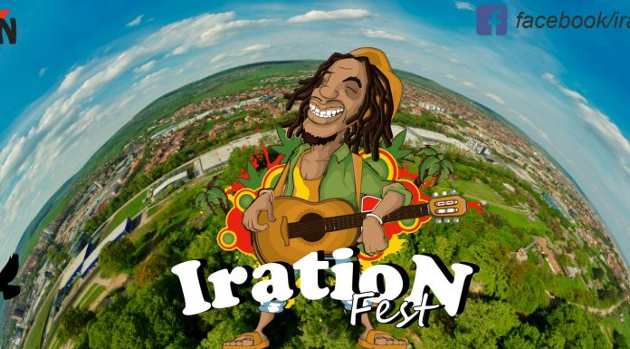 Afişul oficial IratioN Fest 2019 - Cluj For Youth